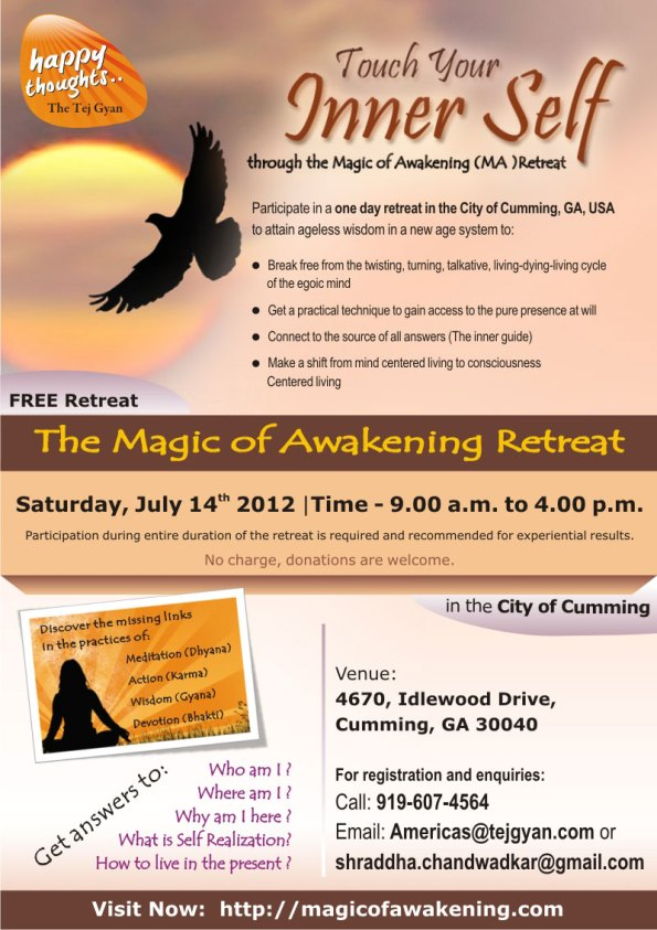 Magic of Awakening Retreat in The city of Cumming, GA, USA