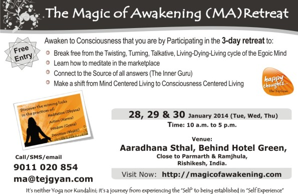 Magic of Awakening Retreat at Rishikesh