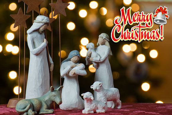 Festivals are created when someone is born whose life leads to a revolution in the world. Merry Christmas!