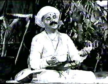 Saint Tukaram's life teaches us what patience and love is. A still from 1937 movie Saint Tukaram
