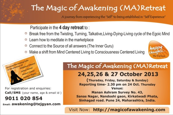 Attend Magic Of Awakening in Pune