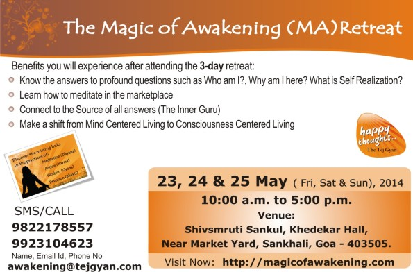 The Magic of Awakening Retreat in Goa