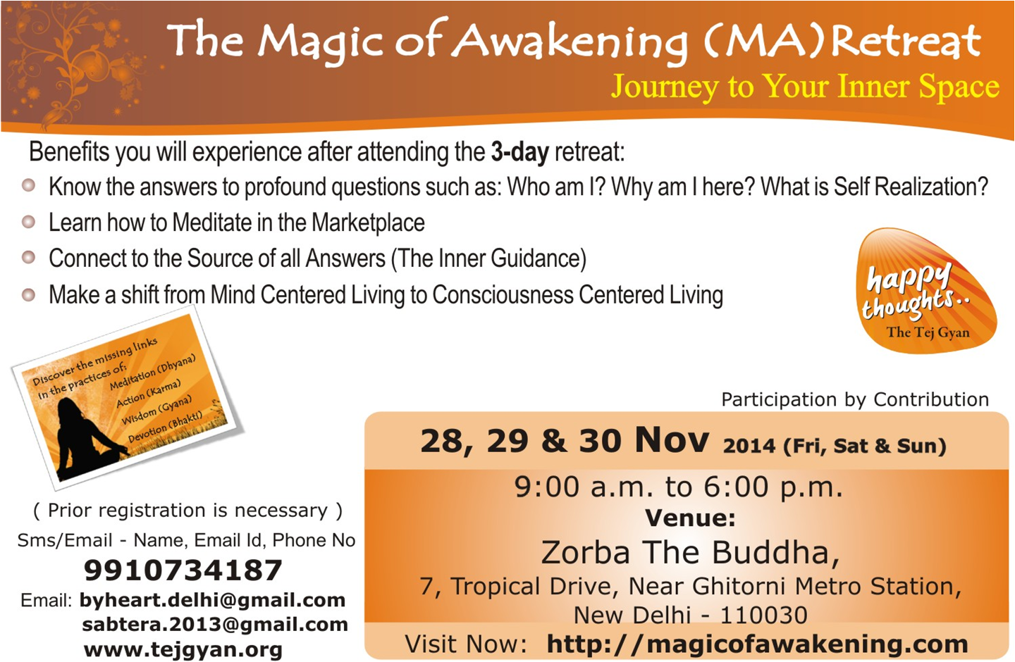The Magic of Awakening Retreat in New Delhi