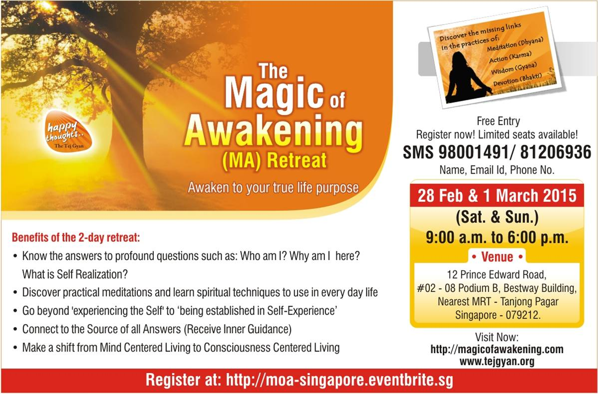 Magic of Awakening in Singapore on 28 Feb - 1 Mar, 2015-02-15