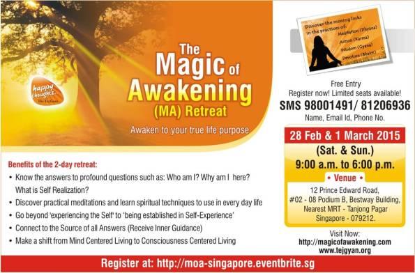 Magic of Awakening in Singapore on 28 Feb - 1 Mar, 2015-02-15